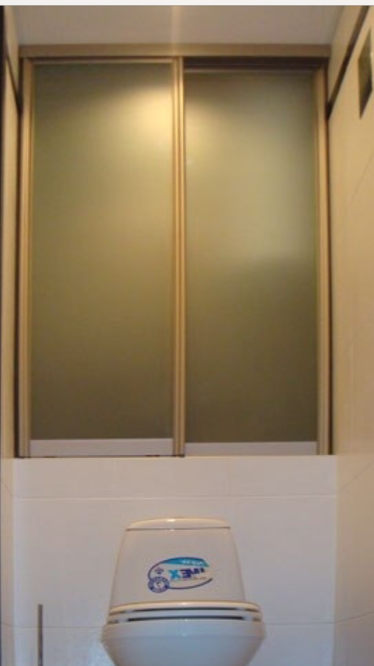 Шкаф-купе в туалете своими руками