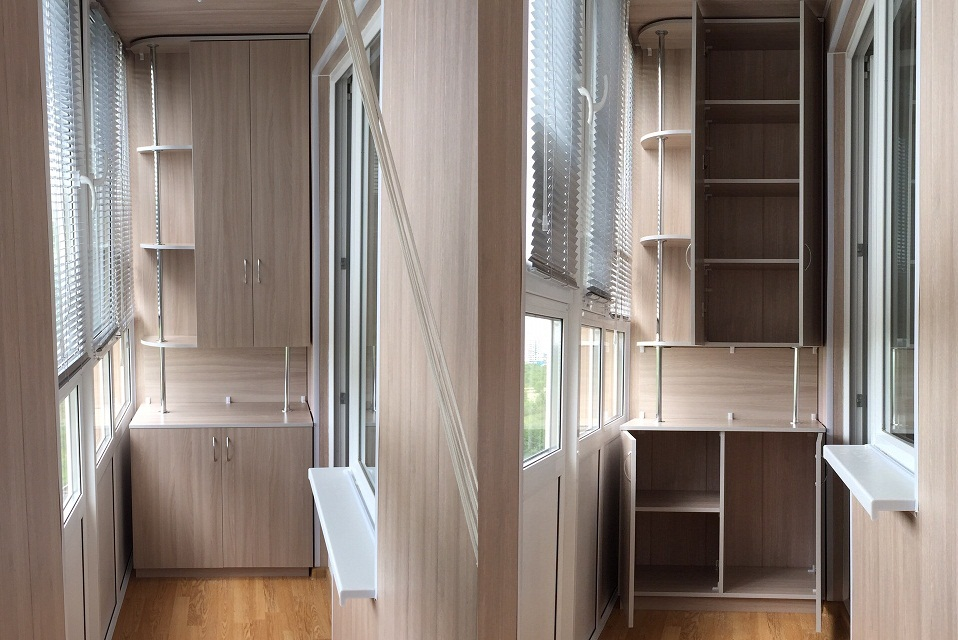 Шкафы +для балконов +и лоджий+ шкаф+на балкон+мебель для лод.