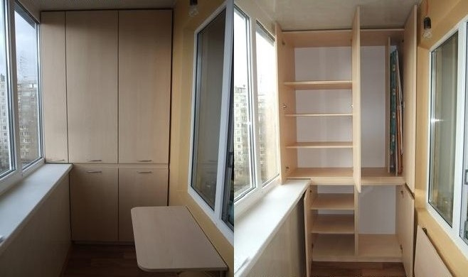 Шкаф на балкон готовый купить.